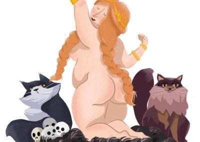 Freya Nothern Goddess